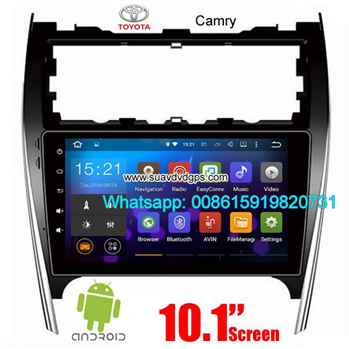 Toyota Camry USA AU UK audio radio Car android wifi GPS camera video